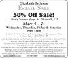 Norwalk, CT Estate Sale by Elizabeth Jackson