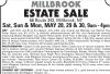 Millbrook, NY ESTATE SALE