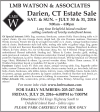 Darien, CT Estate Sale by LMB WATSON & ASSOCIATES
