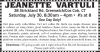 Greenwich/Cos Cob, CT Estate Sale JEANETTE VARTULI