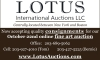 Lotus International Auctions Now accepting quality consignments