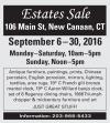 New Canaan CT Estates Sale