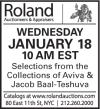 Roland Monthly Estate Auction