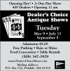 Dealer's Choice in Brimfield MA