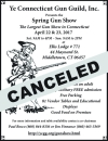 Canceled Ye Connecticut Gun Guild Spring Show Has Been Canceled