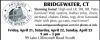 BRIDGEWATER, CT Estate Sale