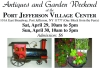 Antiques and Garden Weekend at the PORT JEFFERSON VILLAGE CENTER