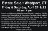 Estate Sale • Westport, CT