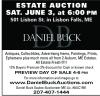 Daniel Buck  Estate Auction