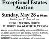 Degre Exceptional Estates Auction