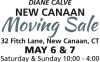 DIANE CALVE NEW CANAAN Moving Sale