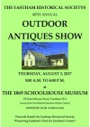 30th Annual THE EASTHAM HISTORICAL SOCIETY OUTDOOR ANTIQUES MARKET