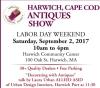 Harwich, Cape Cod Antiques Show