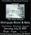 Fitzwilliam Historical Society Antiques Show & Sale