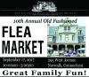 Old Fashioned Flea Market At Lockwood-Mathews Museum