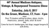 44th Madison, CT Antiques, Vintage & Repurposed Treasures Show