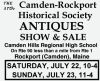 37th Camden-Rockport Historical Society ANTIQUES SHOW & SALE