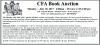 CFA Book Auction