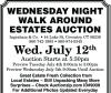 Ingraham & Co. WALK AROUND ESTATES AUCTION
