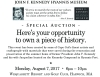 JOHN F. KENNEDY HYANNIS MUSEUM SPECIAL AUCTION