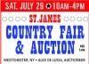 ST.JAMES COUNTRY FAIR & AUCTION