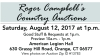 Roger Campbell's Country Auctions