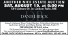 Daniel Buck ANOTHER NICE ESTATE AUCTION
