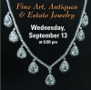 Note: Due To Irma -- RESCHEDULED FOR 9/26 Kodner Fine Art, Antiques and Estate Jewelry