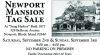 Newport Mansion Tag Sale