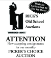 Rick's Old School Auctions