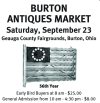 BURTON ANTIQUES MARKET