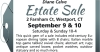 Westport, CT Estate Sale by  Diane Calve