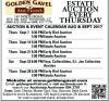 Golden Gavel ESTATE AUCTION EVERY THURSDAY