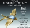VINTAGE COSTUME JEWELRY SHOW AND SALE