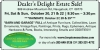 Dealer's Delight Estate Sale in Naugatuck, CT