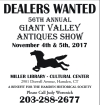 56th Annual Giant Valley Antiques Show