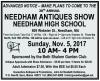 NEEDHAM ANTIQUES SHOW