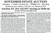 William Smith November Estate Auction