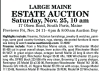 Paul Arsenault ESTATE AUCTION