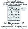 Boston Book Print and Ephemera Show