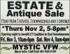 Estate & Antique Sale
