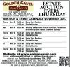 Golden Gavel ESTATE AUCTION