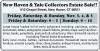 New Haven & Yale Collectors Estate Sale