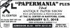 "73rd ""Papermania"" Plus Antique Paper Show"