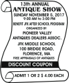 Pioneer Valley Antiques Dealers Assoc. 13th Annual Show