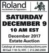 Roland Estate Auction