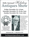 36th Holiday Antiques Show in Williamsburg, VA