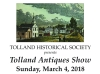 TOLLAND HISTORICAL SOCIETY The 51st Annual Show