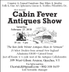 Cabin Fever Antiques Show