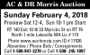 AC & DR Morris Auction